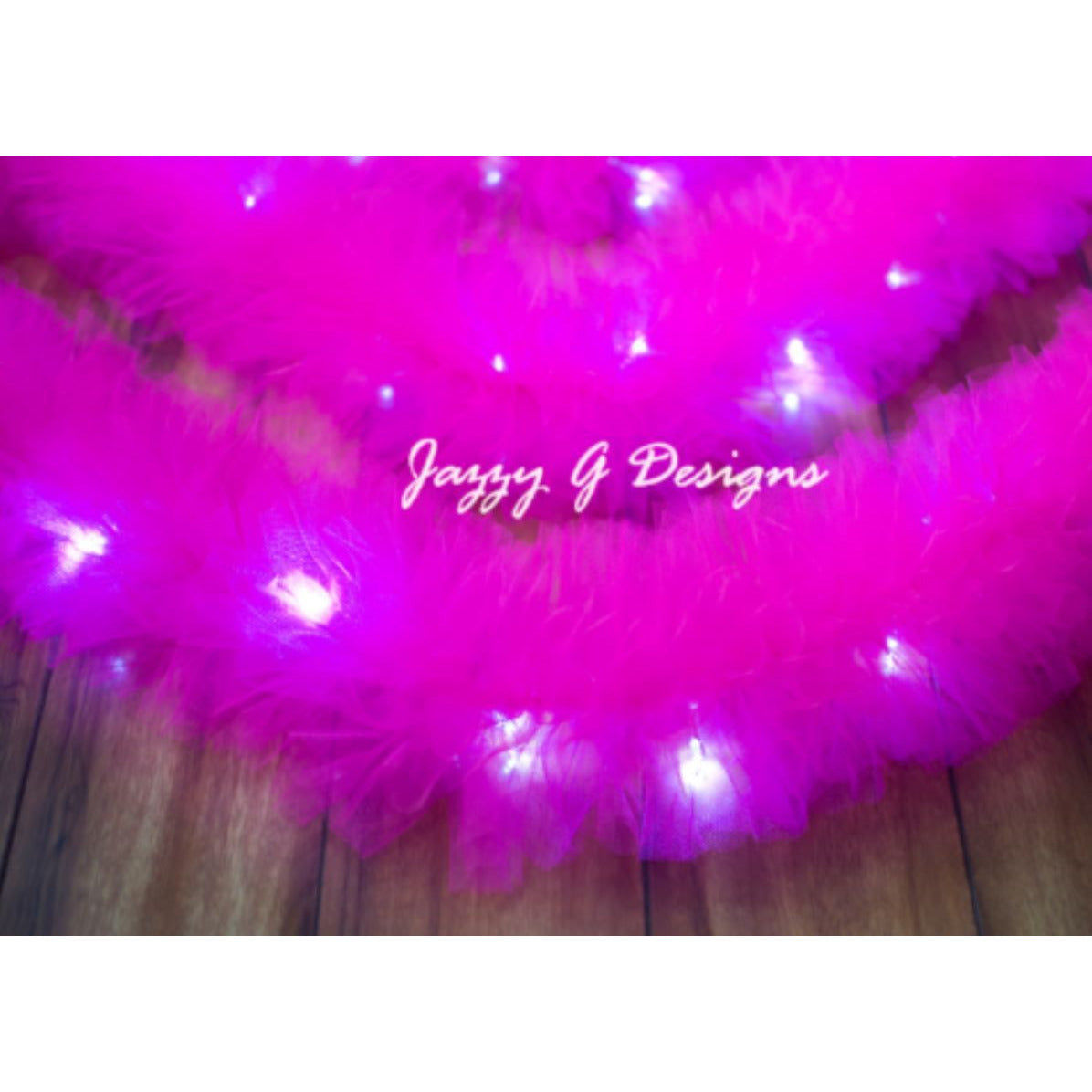 Shocking Pink Tulle Garland