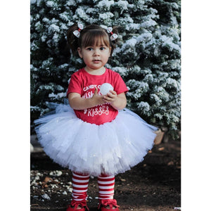 White Sparkle & Lace Tutu