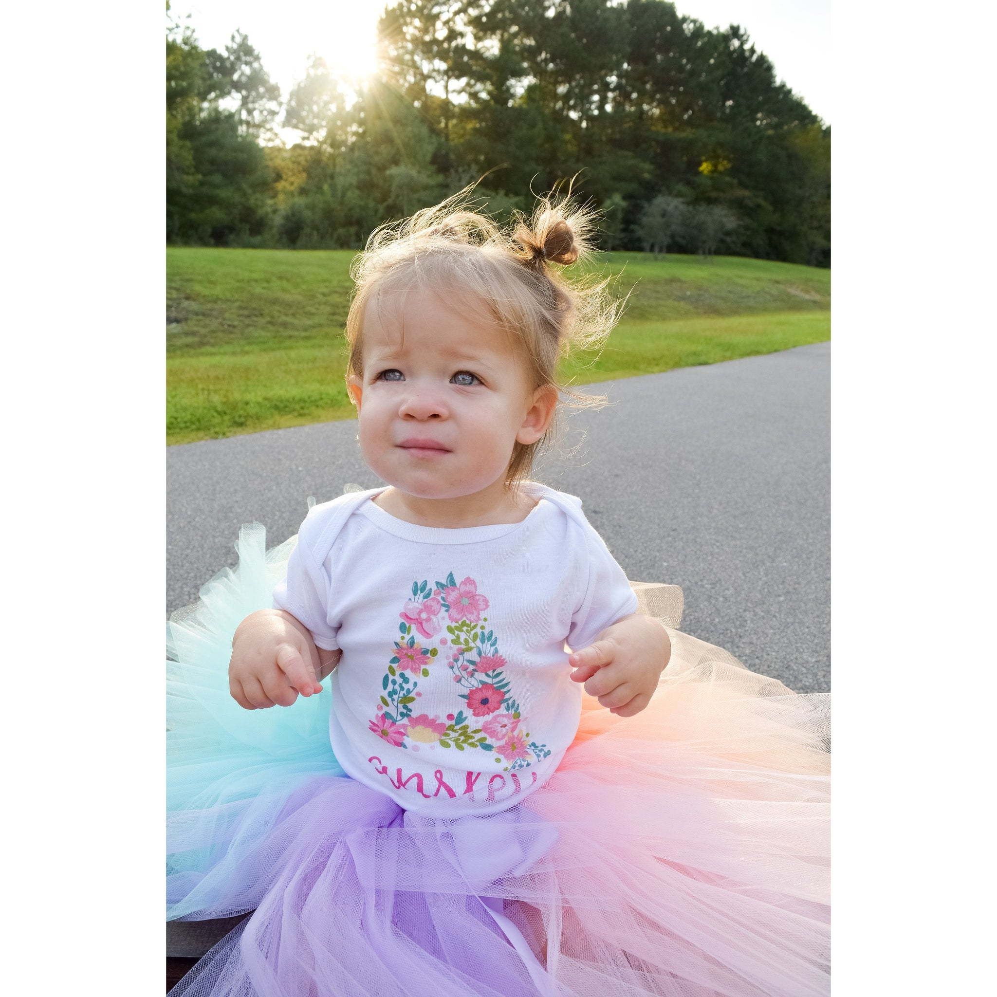 Pastel Unicorn Rainbow Tutu