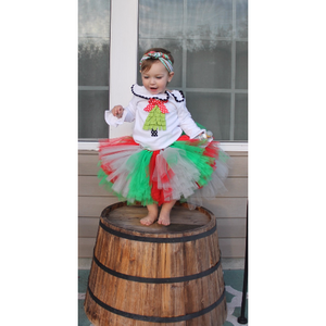 High-Low Christmas Tutu