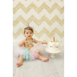 Unicorn Cake Smash Tutu