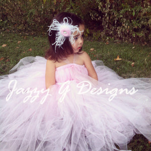 Pink Flower Girl Tutu Dress