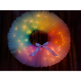 Unicorn Rainbow LED Light Up Tutu