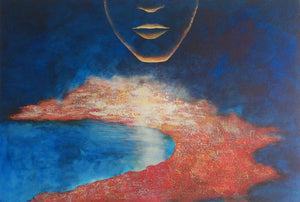 """Face in the sky"" - Sigmund Nyberg Artist"