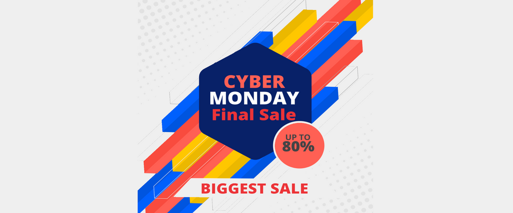 Cyber Monday Final Sale. Up to 80% OFF