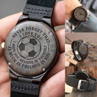 Allure Kozeyo Watch - Believe - Soccer