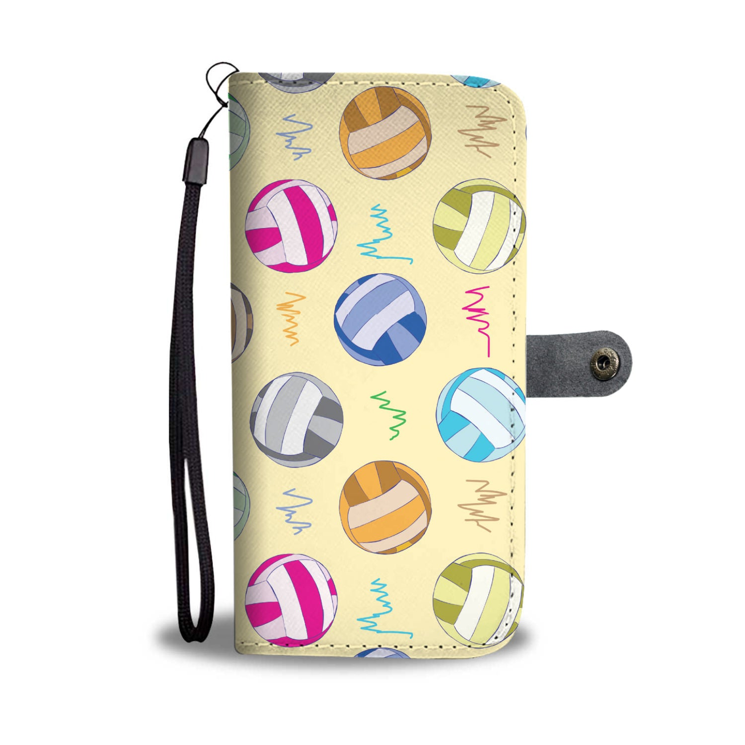 VOLLEYBALL 02 WALLET CASE
