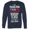 Rugby Proud Mom / He Bought Me This Shirt