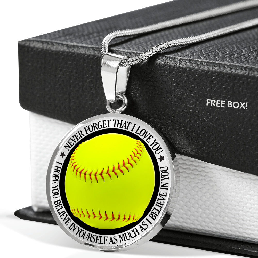 Softball Gift Necklace - KSO108