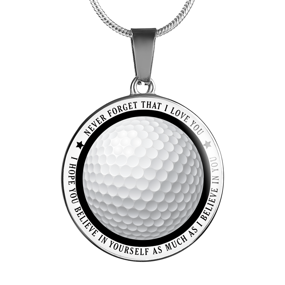 Golf - Believe In Yourself Necklace
