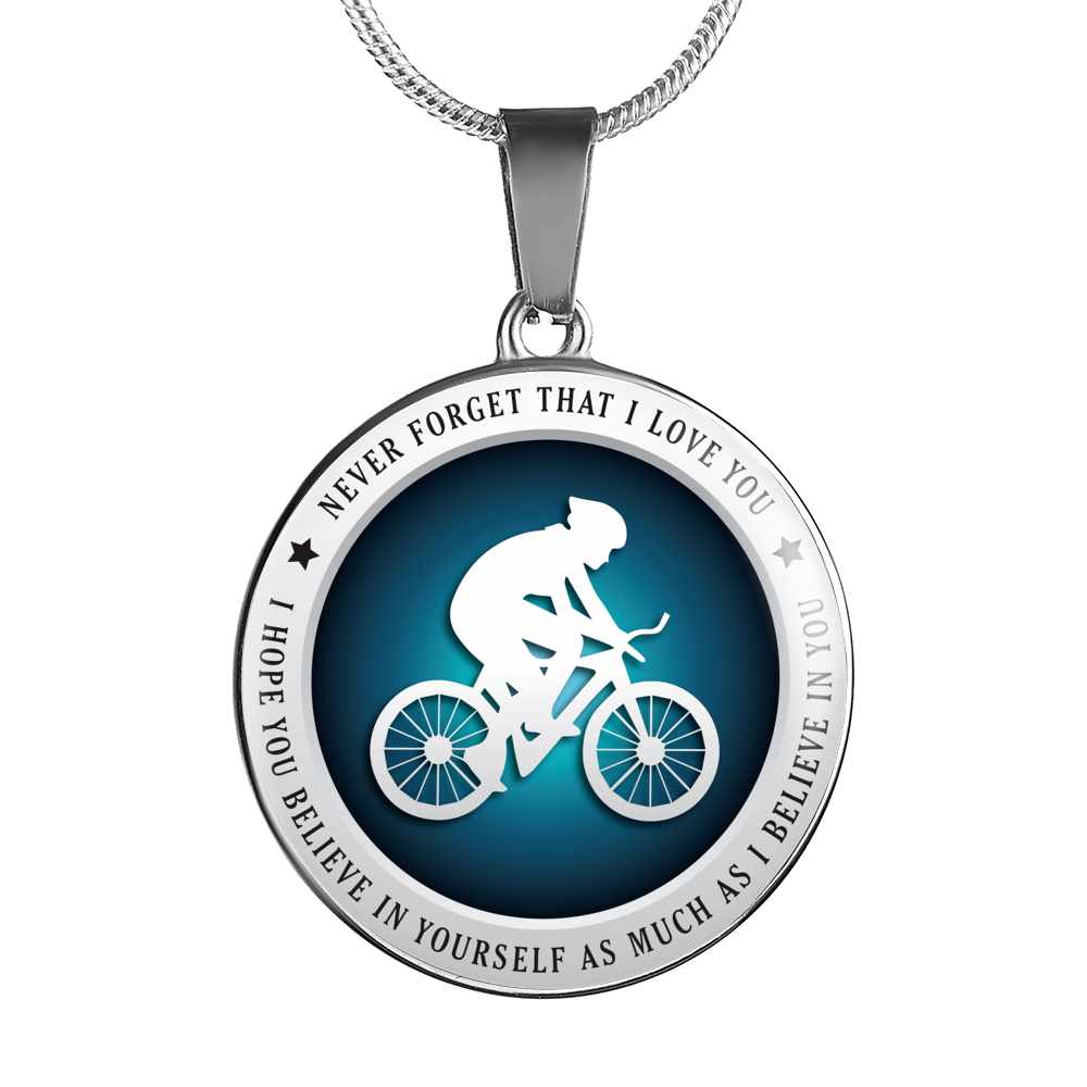 Cycling Necklace - Believe in Yourself