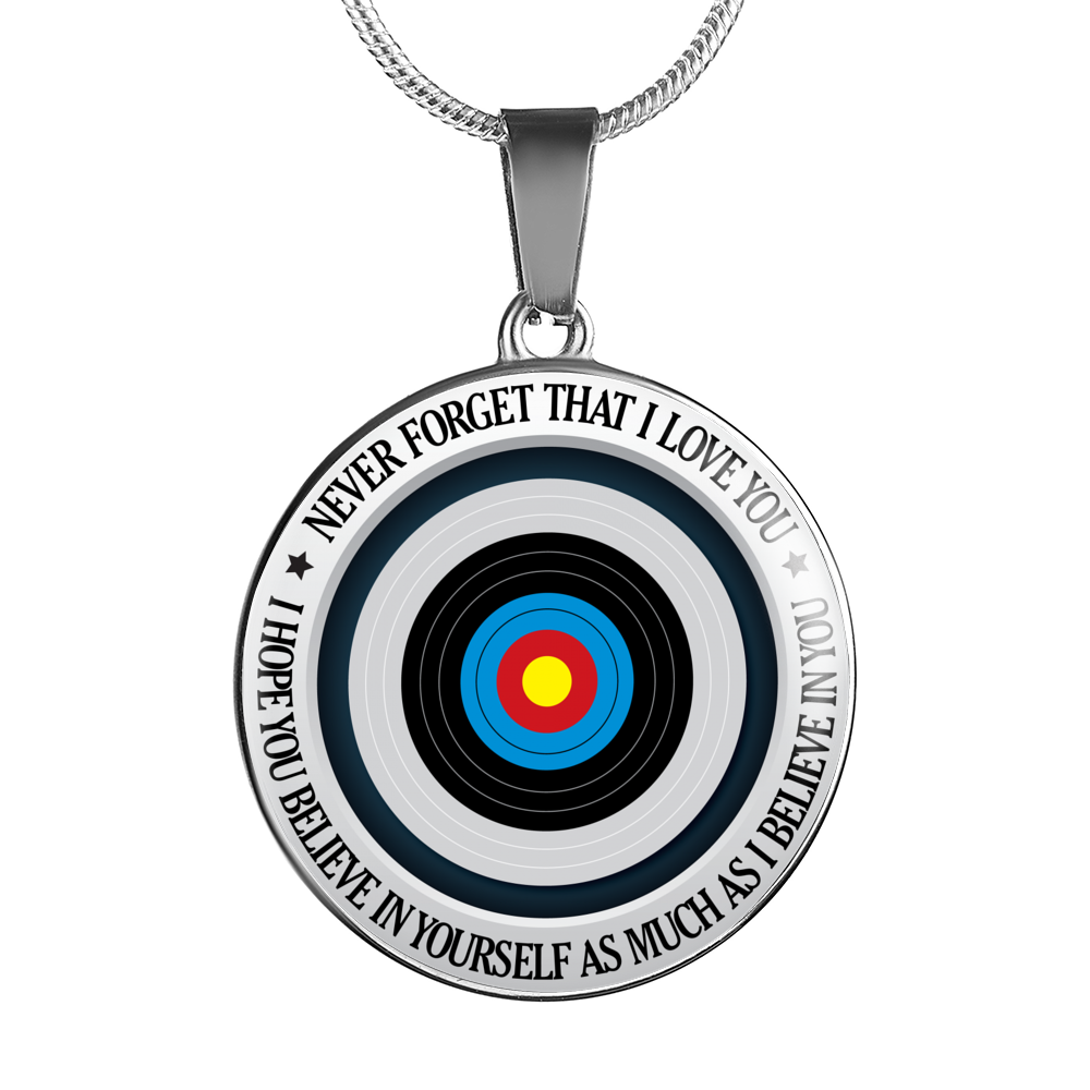Archery Necklace - Believe in Yourself