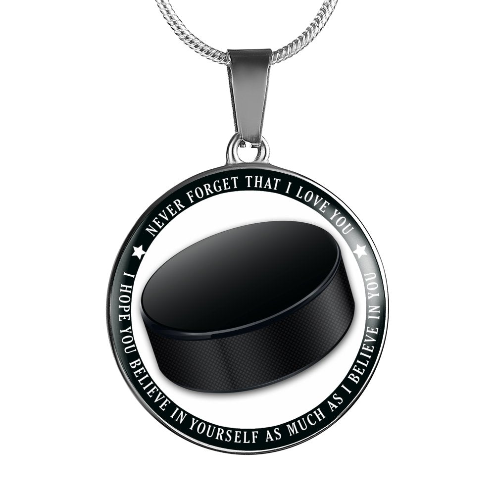 Hockey - Believe In Yourself Necklace