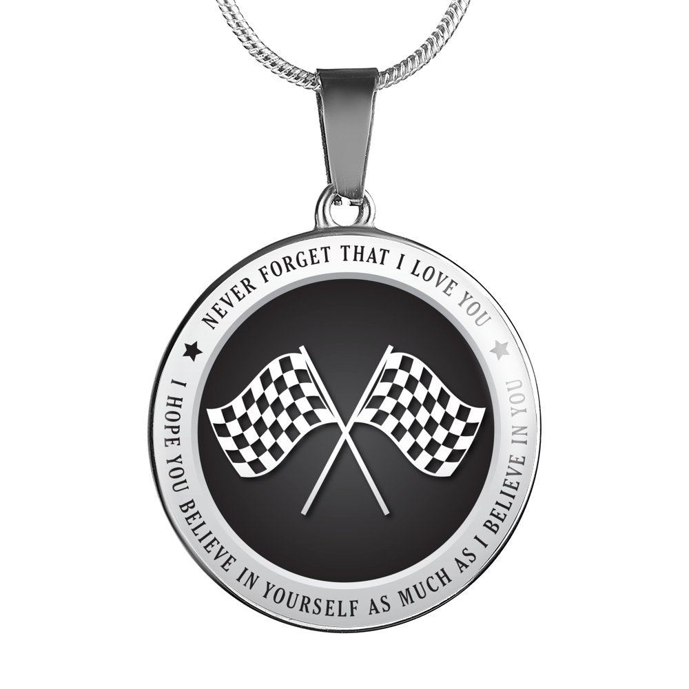 Racer - Believe In Yourself Necklace