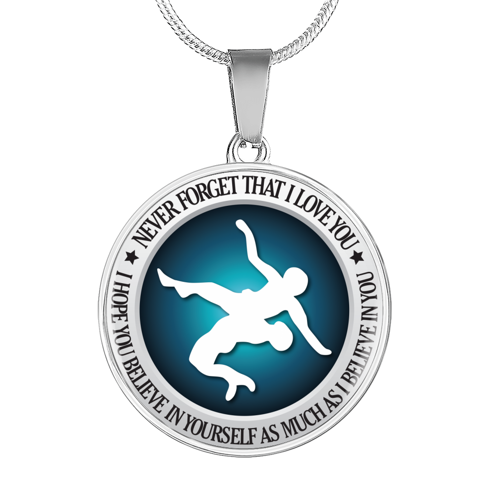 Wrestling - Believe In Yourself Necklace