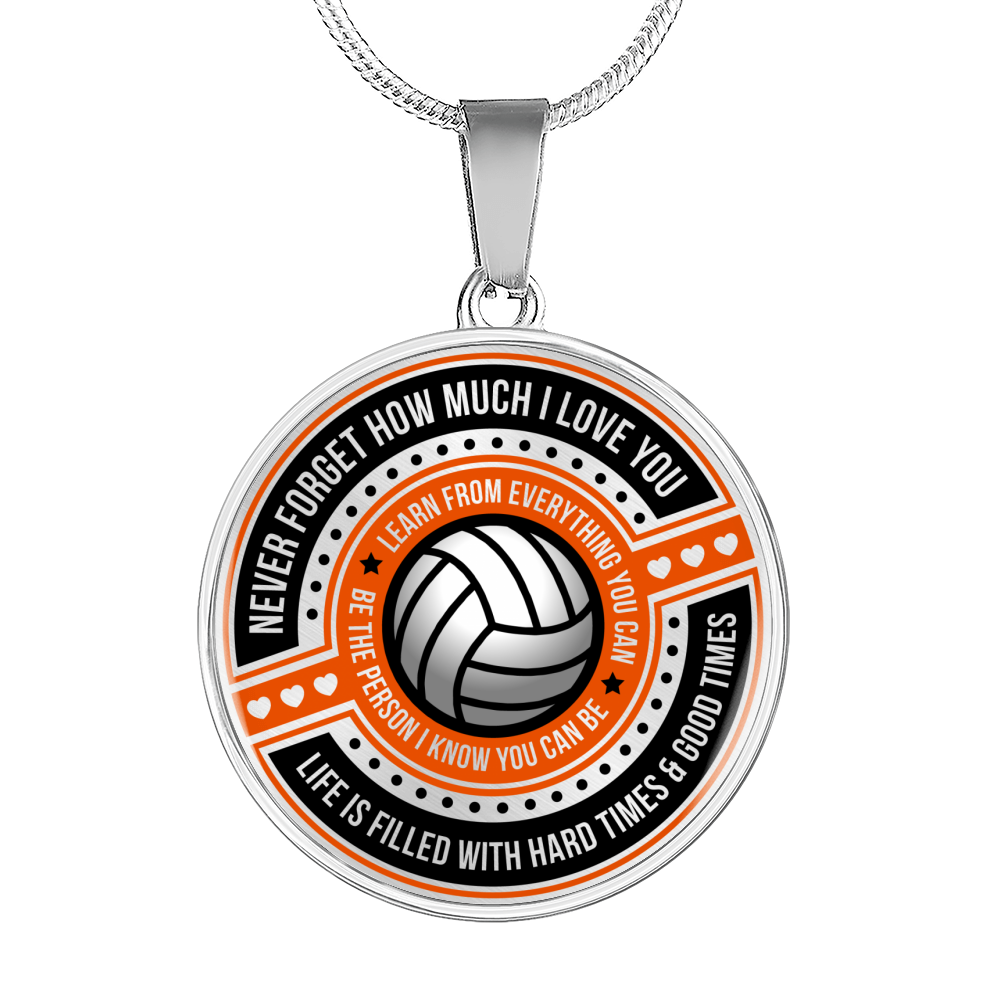 Volleyball - Be The Person I Know You Can Be Necklace