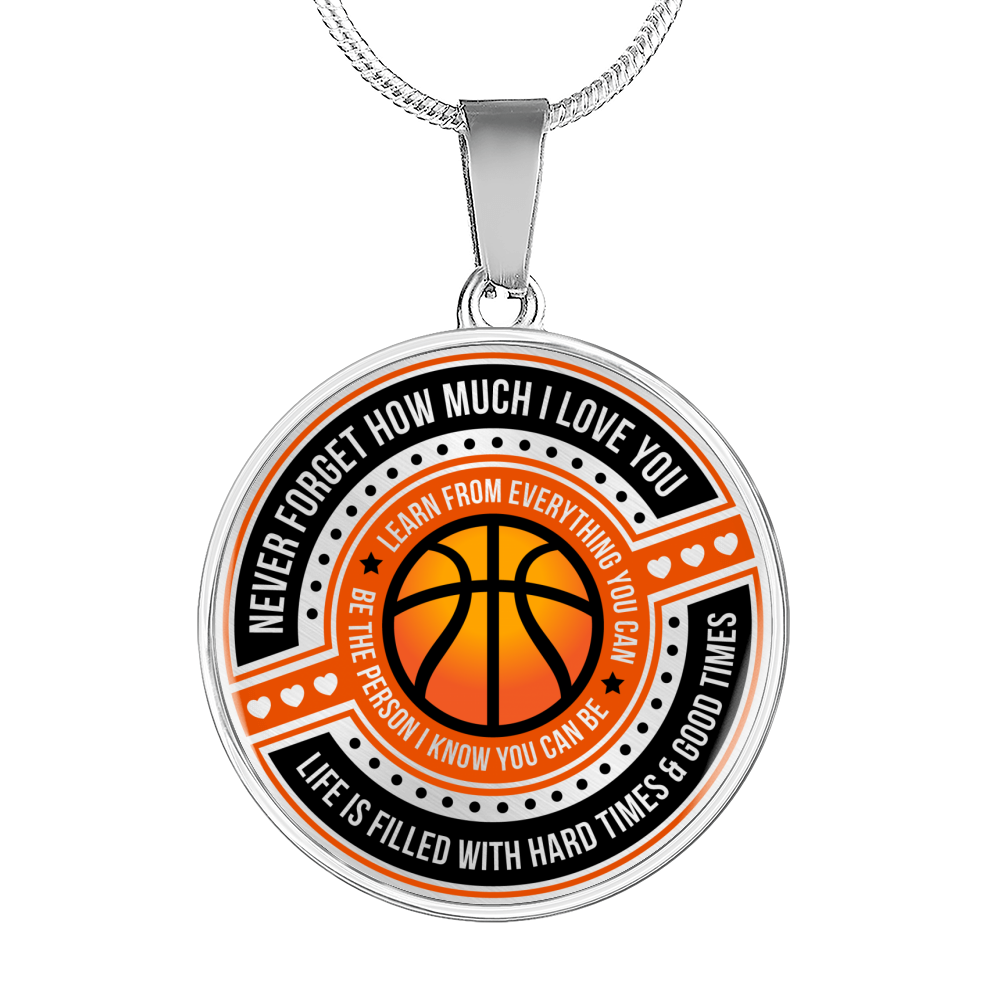 Basketball - Be The Person I Know You Can Be Necklace