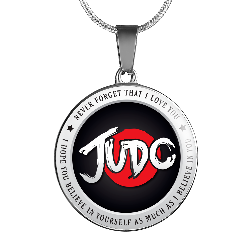 Judo - Believe In Yourself Necklace