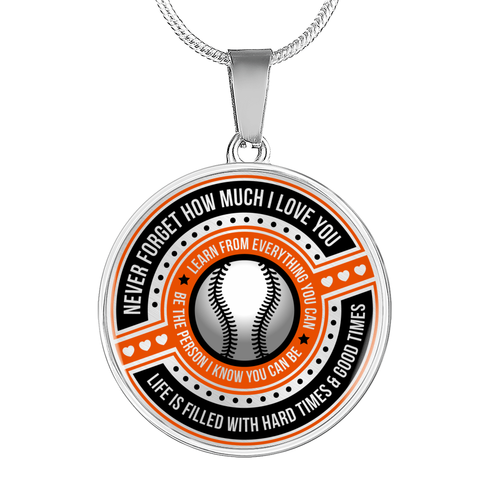 Softball - Be The Person I Know You Can Be Necklace