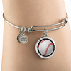 Baseball Bangle - Believe in yourself