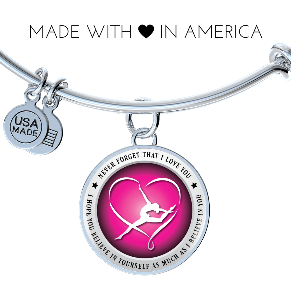 Gymnastics Bangle - Believe in yourself