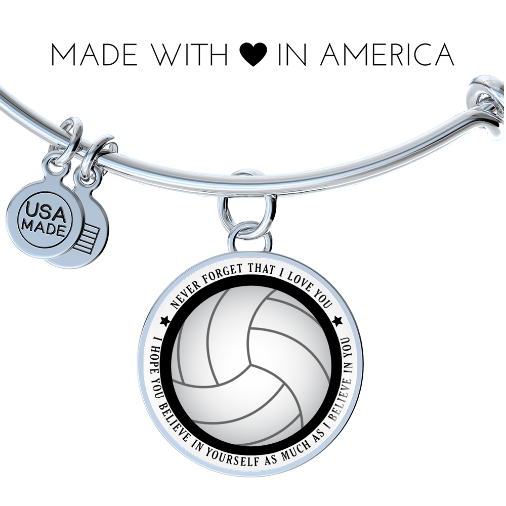 Volleyball Bangle - Believe in yourself