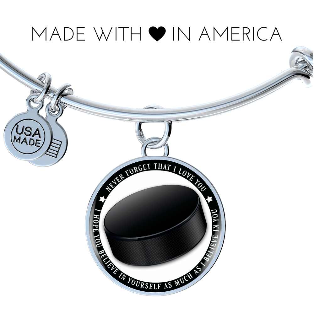 Hockey Bangle - Believe in yourself