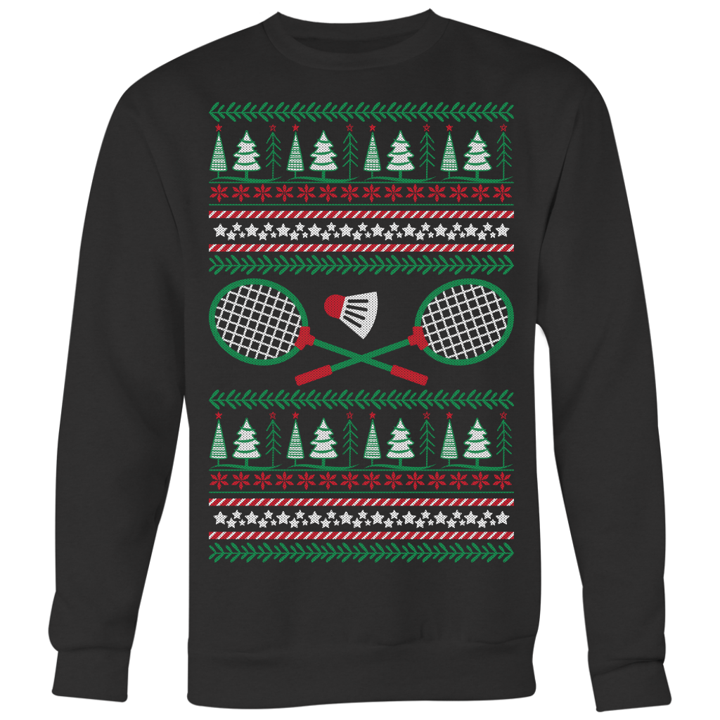 Badminton Ugly Christmas Sweater