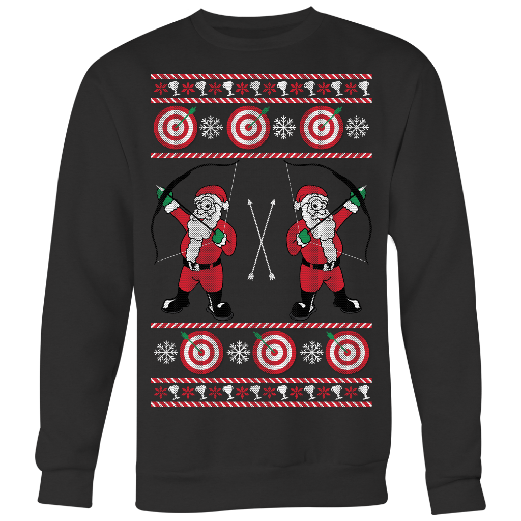 Archery Ugly Christmas Sweater