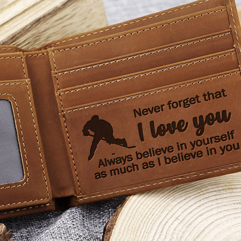 Hockey Player Wallet - KLW105