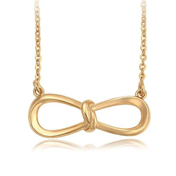 Personalized Infinity Necklace with Initial-HNS Studio