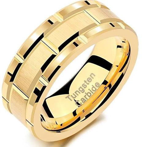 Men Wedding Band HNS Studio Canada