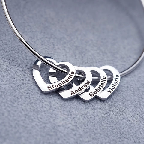 Mom Bracelet with Kids Names