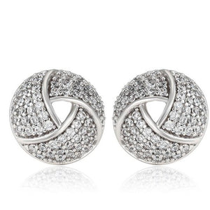 Love Knot earrings  HNS Studio Canada