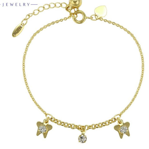 Butterfly Charms Delicate Bracelet