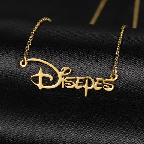 Disney Font Name Necklace