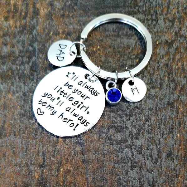 Personalized Keychain for Dad - HNS Studio