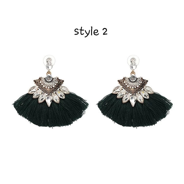 Bohemian Tassel Earrings - HNS Studio