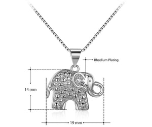 Elephant Pendant Necklace - HNS Studio
