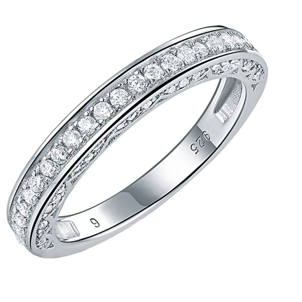 Sterling Silver Eternity Ring