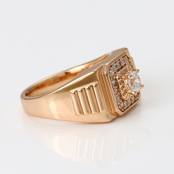 Men's 18k Gold Plated Ring
