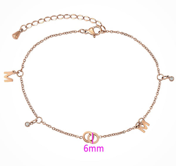 Rose Gold Anklet