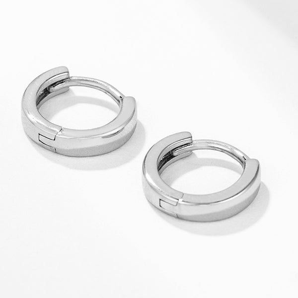 Small Huggie Earrings