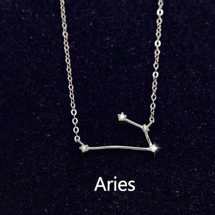 Constellation Necklace in Silver - HNS Studio