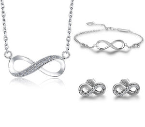 Infinity Necklace Set