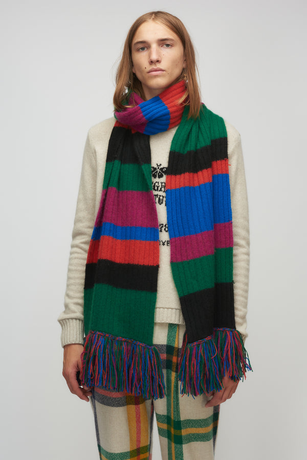 Longstocking Fringe Scarf