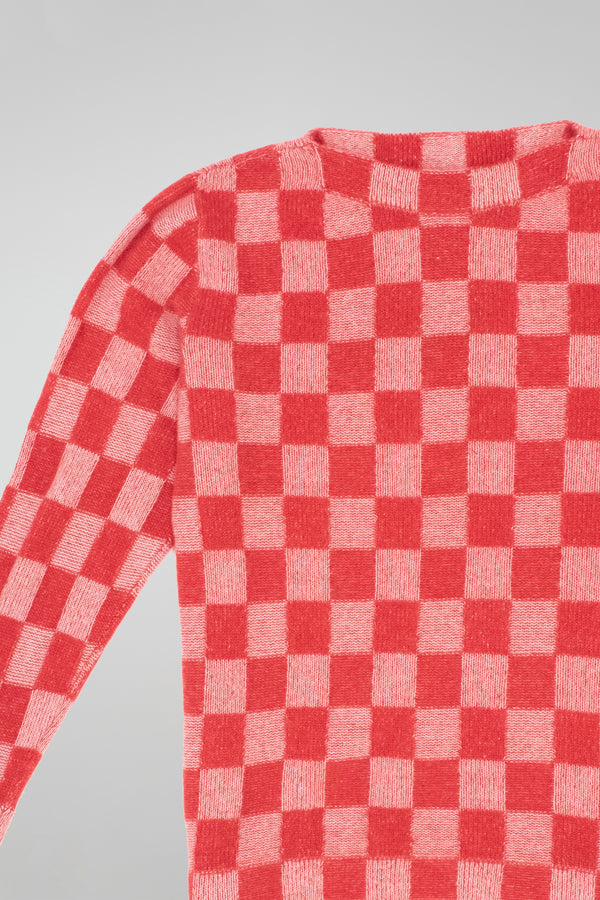 Gee's Plaid Boatneck