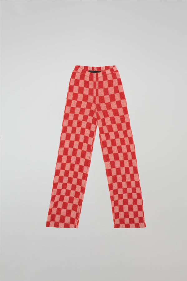 Gee'S Plaid Flare Pants