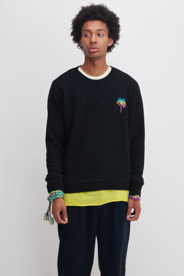 Shop Painted Palms Regular Sweater