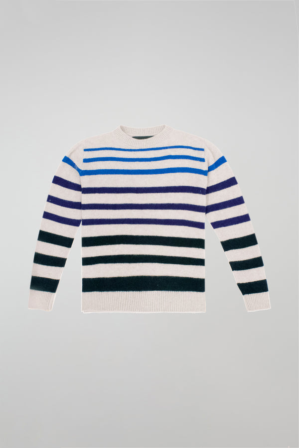 Horizon Stripe Simple Crew